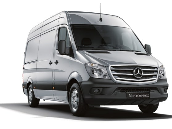 Mercedes-Benz Guides app for Sprinter 906