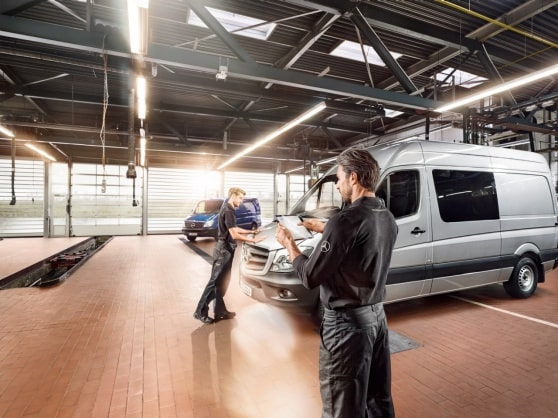 Mercedes-Benz Digital Service Report for your van