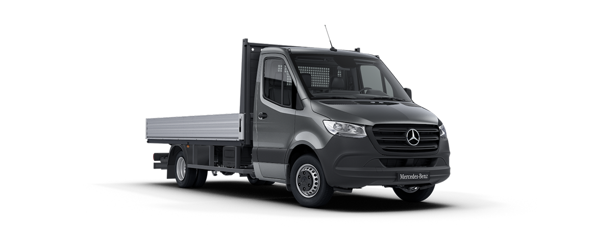 Sprinter Platform Vehicle, selenite grey