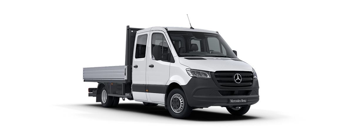 Sprinter Platform Vehicle, Arctic white