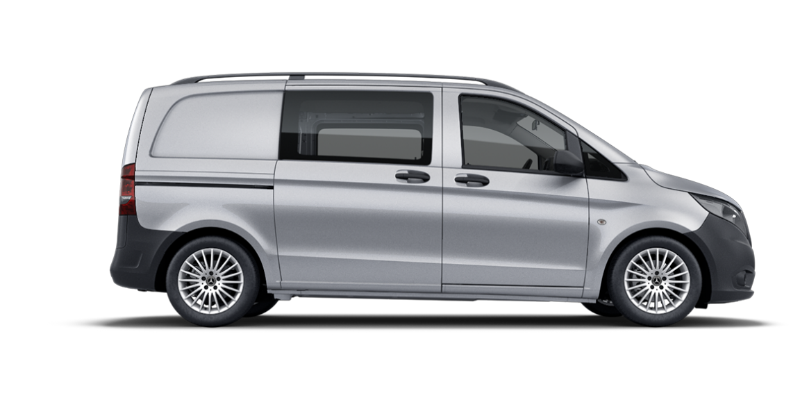 Vito Mixto, 3200 mm wheelbase, short overhang