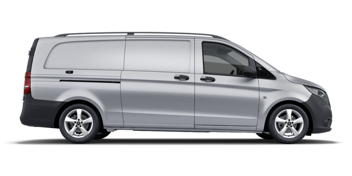 Vito panel van, 3430 mm wheelbase, long overhang