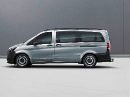 Vito Tourer, front left fixed side wall/sliding door window