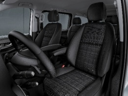 Vito Tourer, comfort driver's seat, comfort co-driver seat