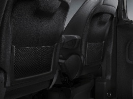 Vito Tourer, driver's seat backrest stowage net