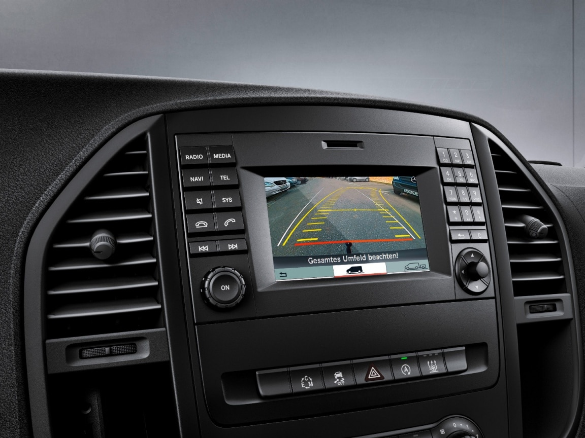 Vito Tourer, reversing camera