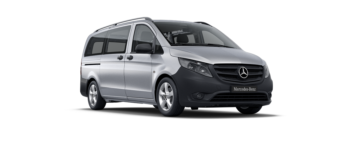 Vito Tourer, brilliant silver metallic